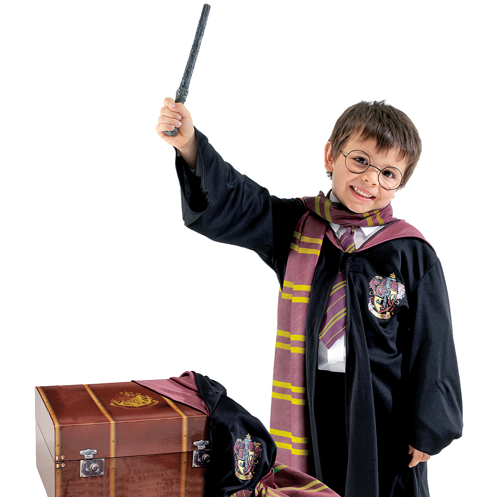 Harry Potter Costume Accessory Kit with Trunk Image #1