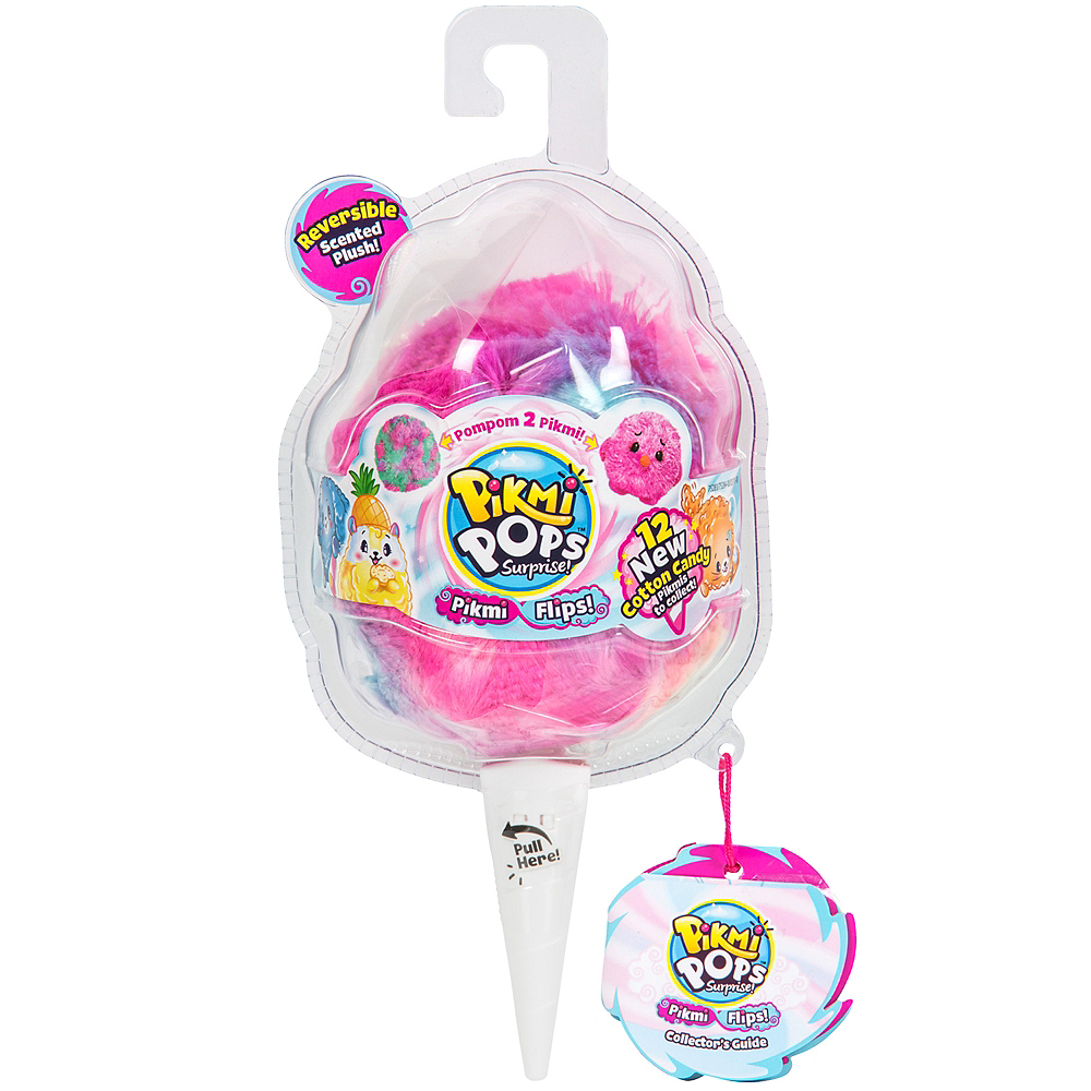 Pikmi Pops Surprise! Cotton Candy Plush Image #1