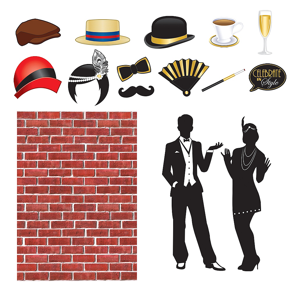 Roaring 20s Photo Booth Kit Image #1
