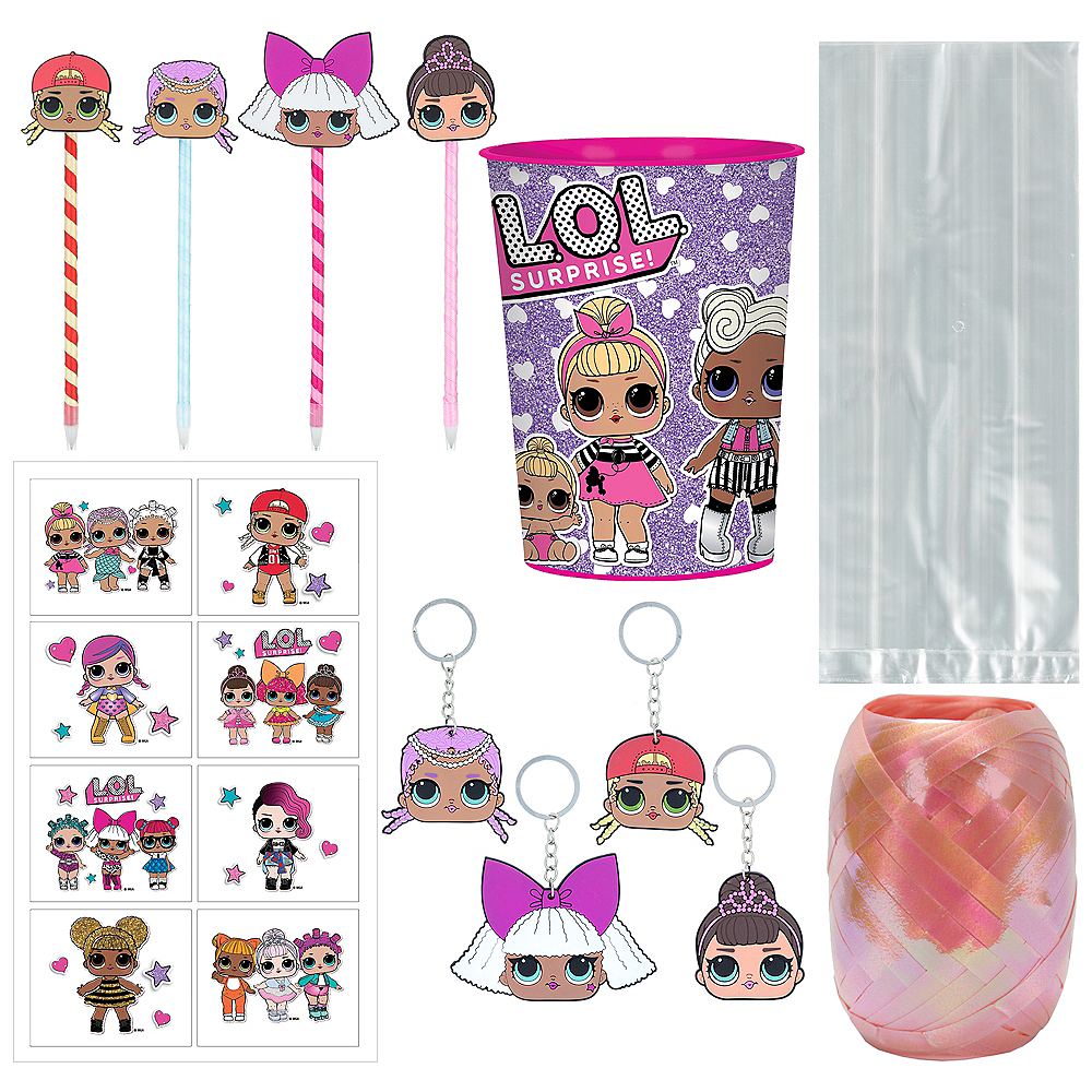 L.O.L. Surprise! Super Favor Kit for 8 Guests Image #1