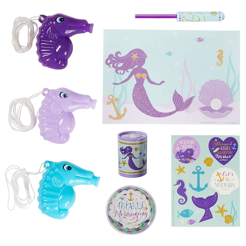 Wishful Mermaid Basic Favor Kit for 8 Guests Image #5