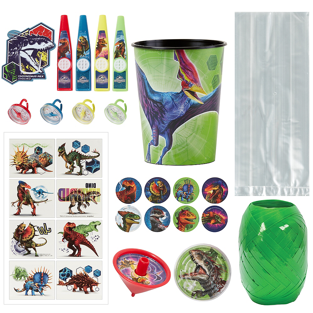 Jurassic World Super Favor Kit for 8 Guests Image #1