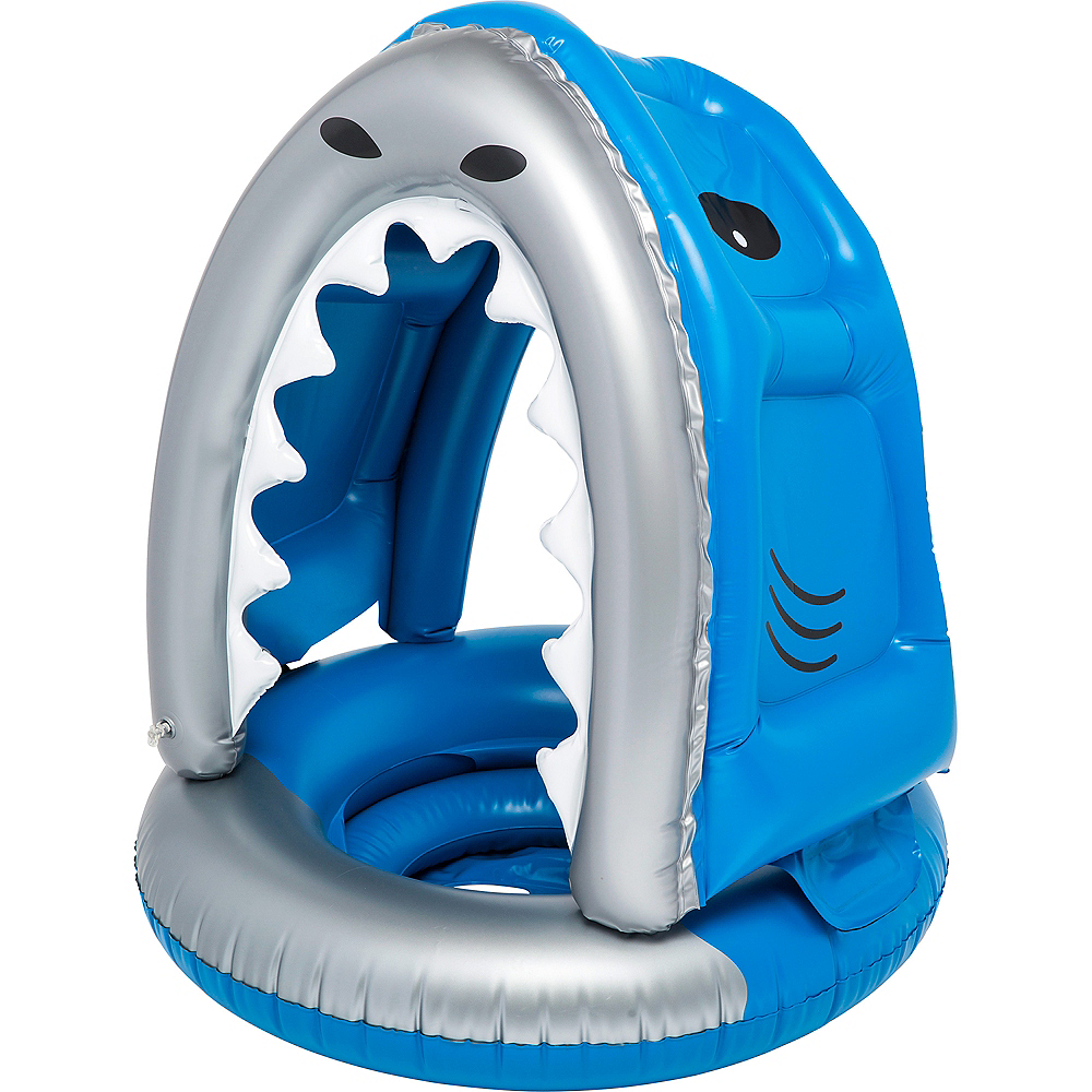 Nibbles the Shark Pool Float Image #1