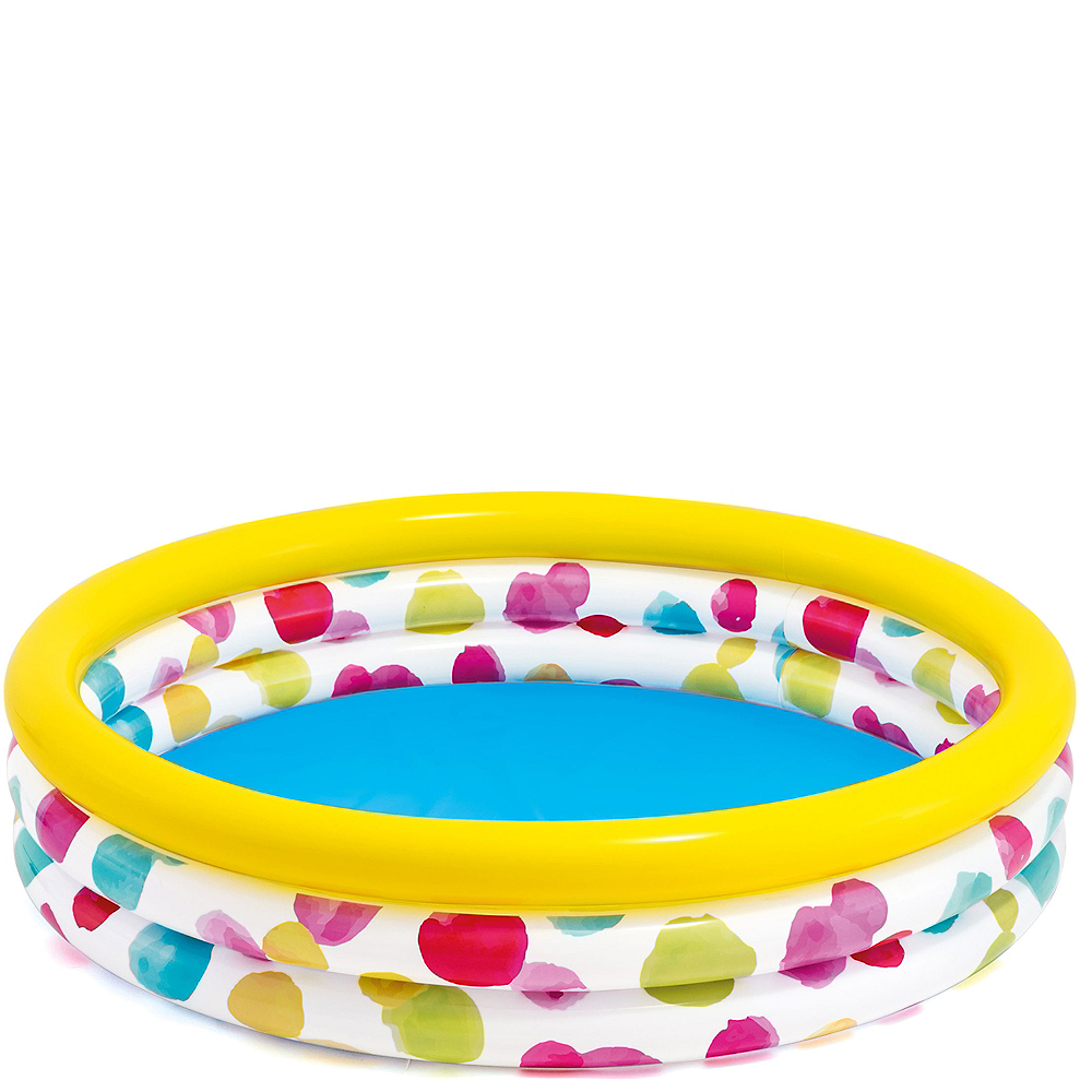 Inflatable Colorful Dots Swimming Pool