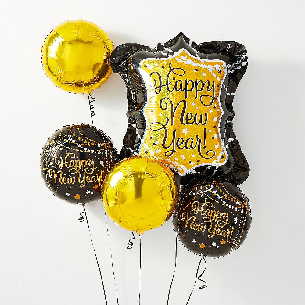 Happy New Year Balloons 12