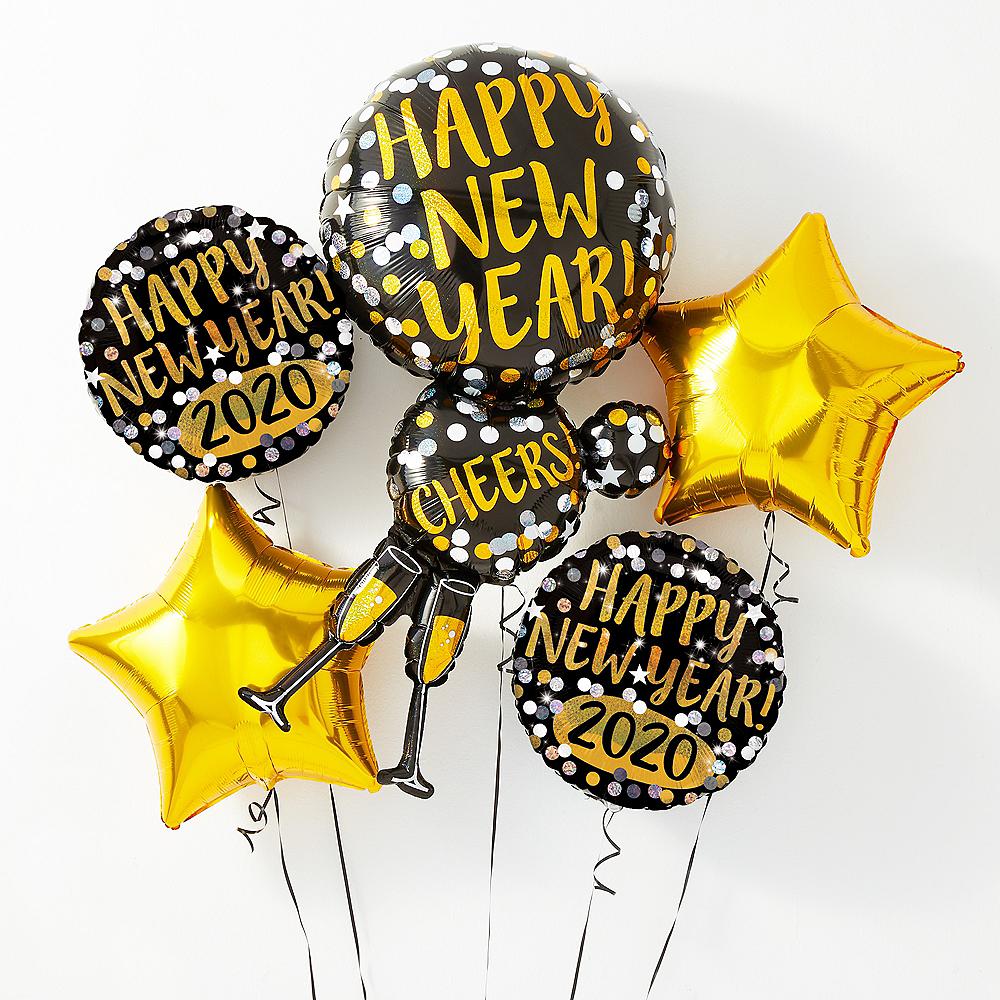 Happy New Year Balloons 30