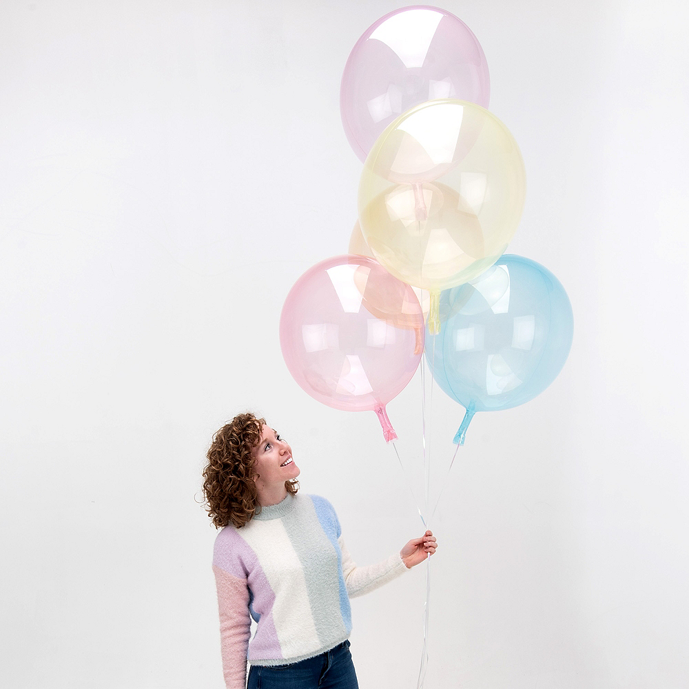 Clear Pink Balloon - Crystal Clearz Image #4