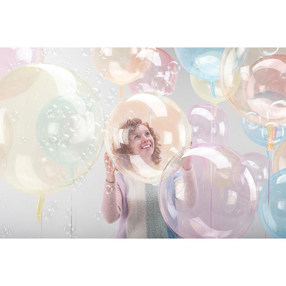 Clear Orange Balloon - Crystal Clearz Image #1