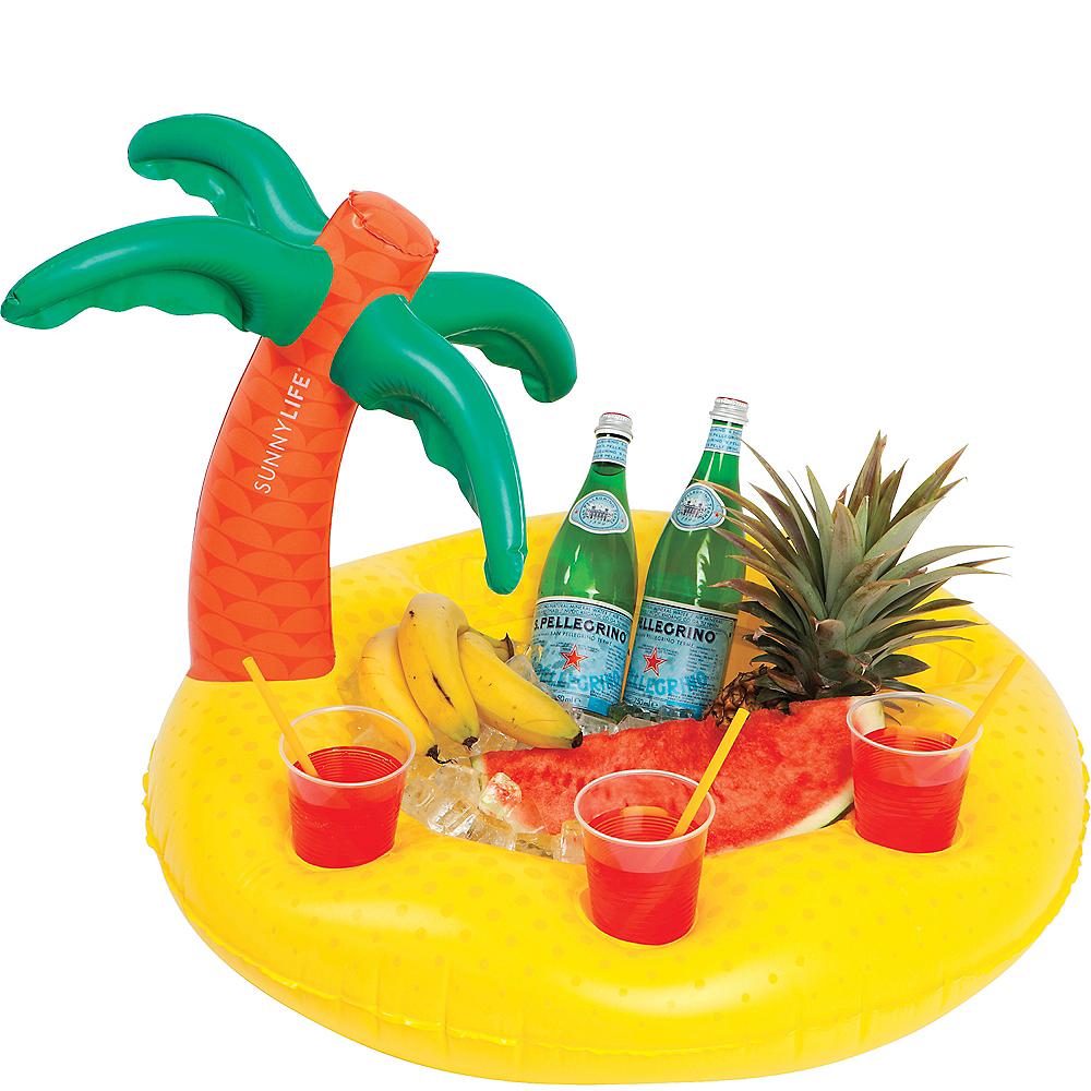 Inflatable Tropical Pool Bar Image #2