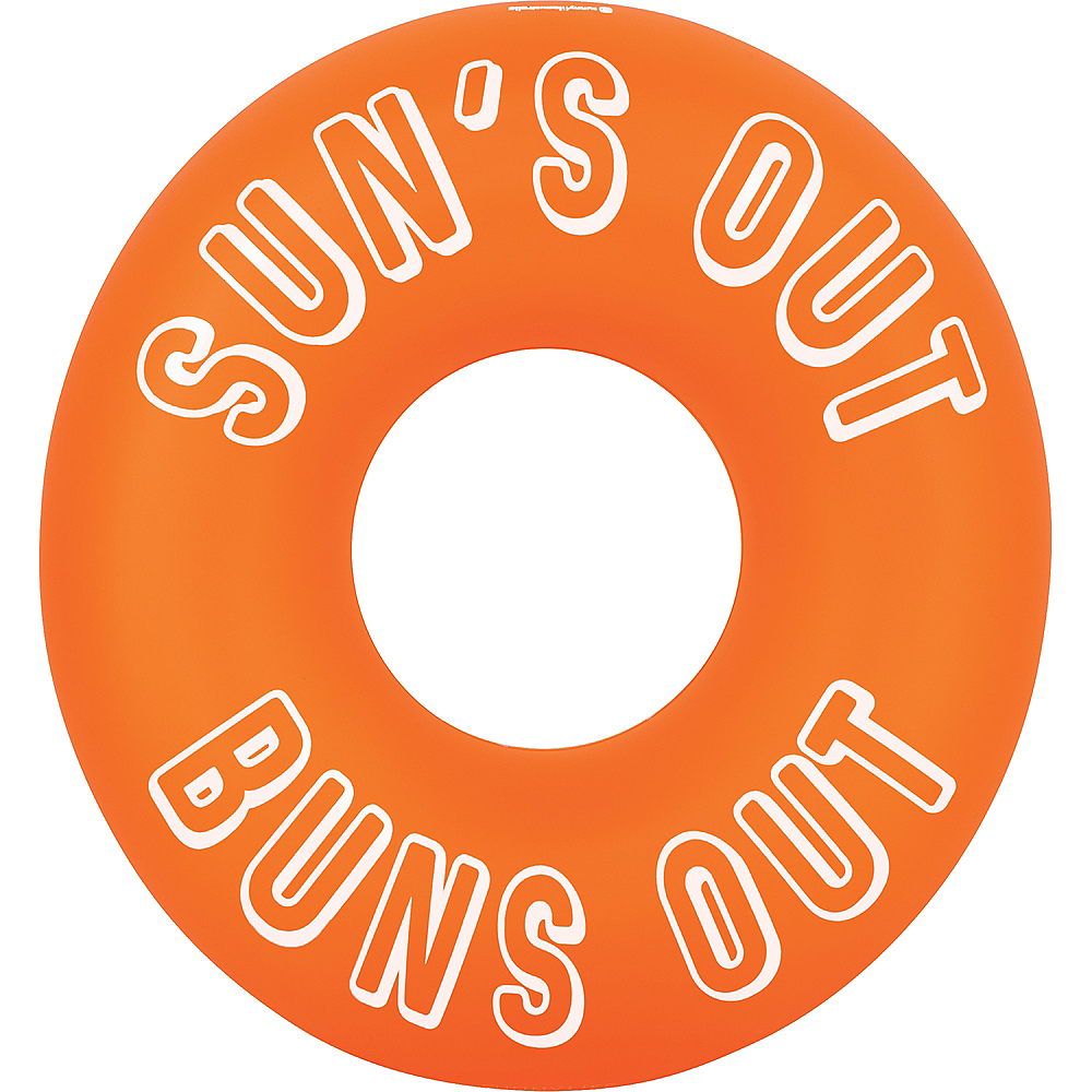 Suns Out Buns Out Pool Float Image #1