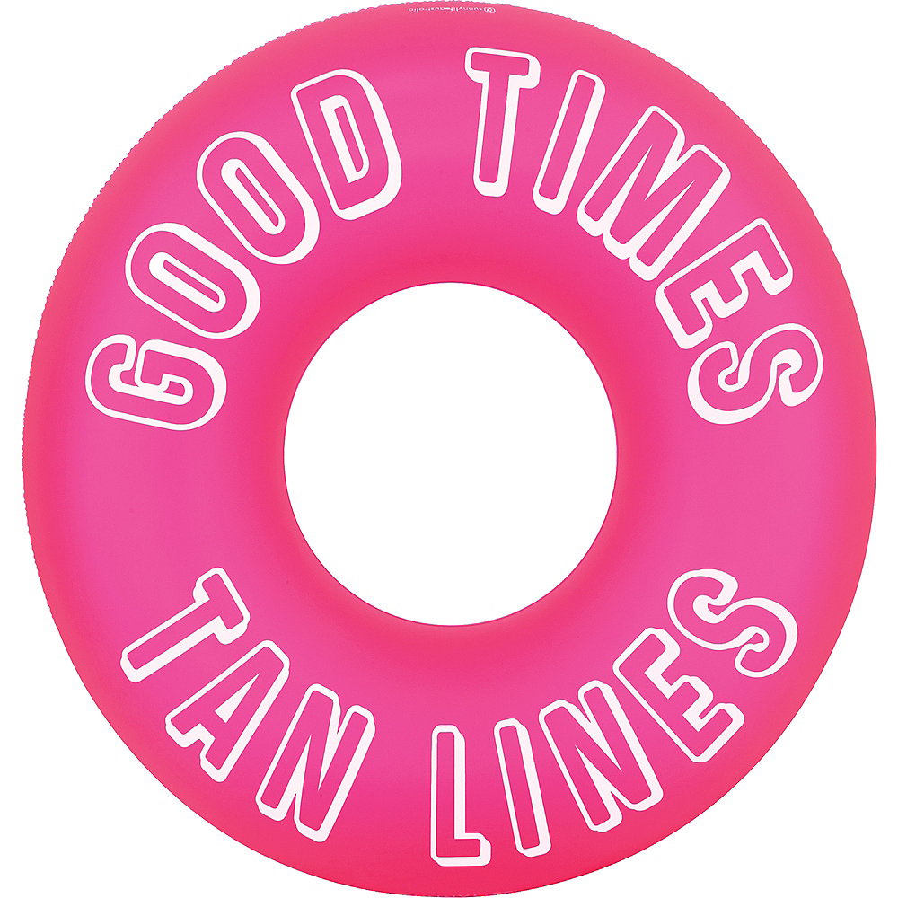 Good Times Tan Lines Pool Float Image #1