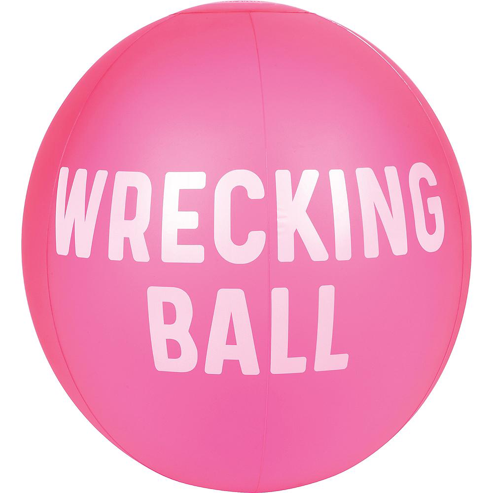 XL Neon Pink Beach Ball Image #1