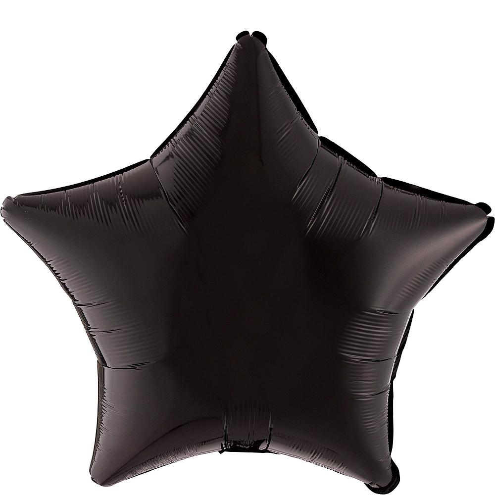 Silver 2019 NYE Stars Balloon Kit Image #5