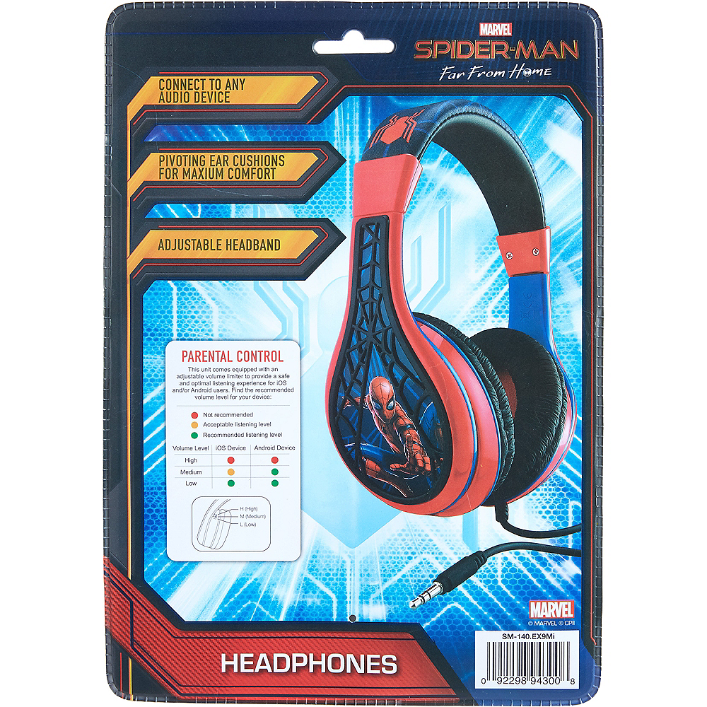 Spider-Man: Far From Home Youth Headphones Image #4