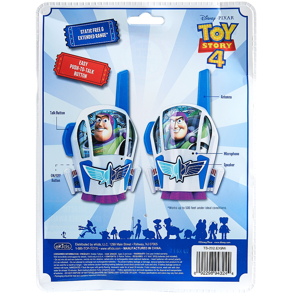 Nav Item for Toy Story 4 Character Walkie Talkies Image #3