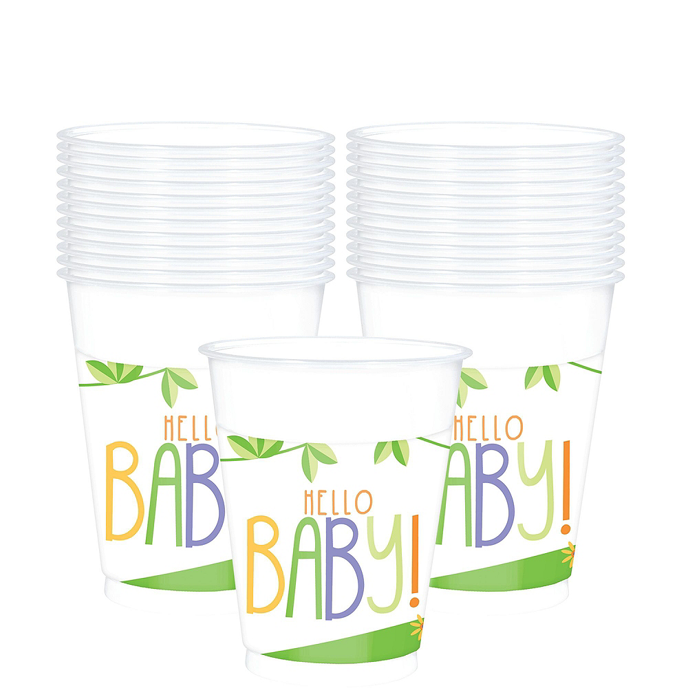 Fisher-Price Hello Baby Tableware Kit for 16 Guests Image #6