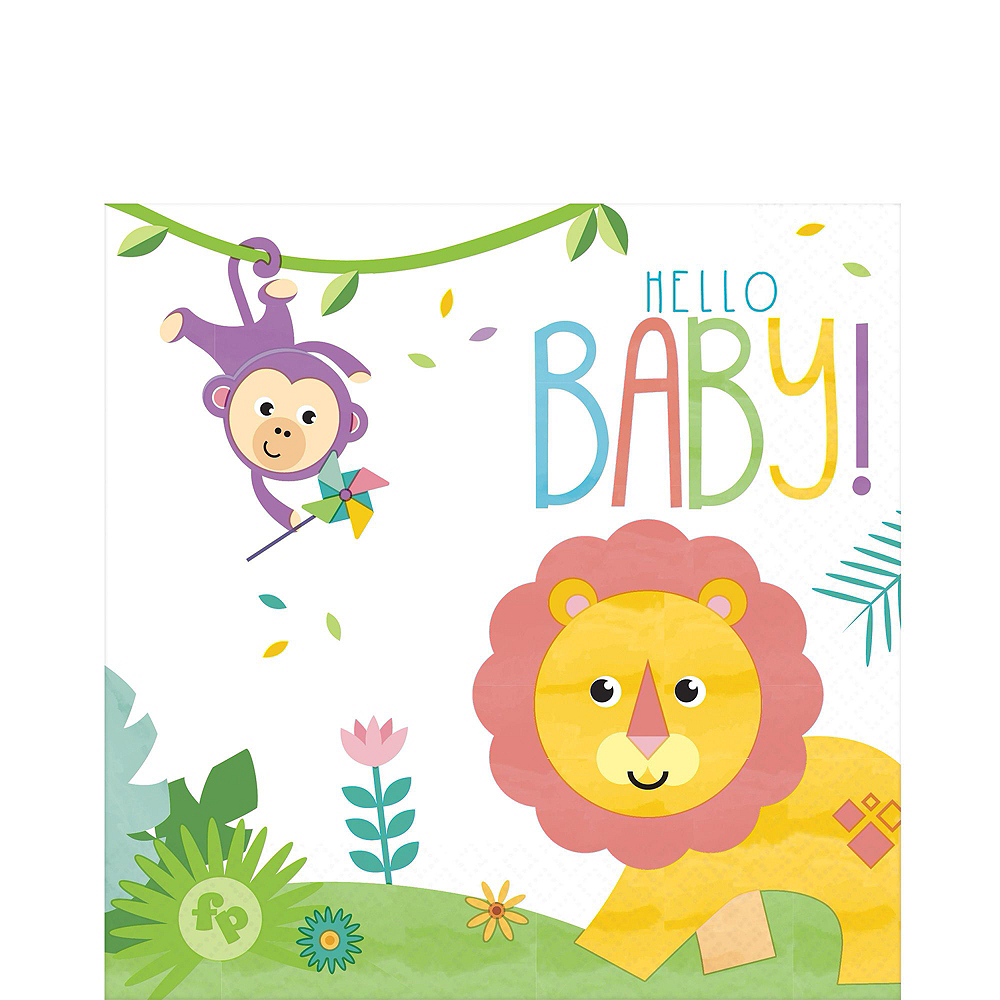Super Fisher-Price Hello Baby Party Kit for 32 Guests Image #5