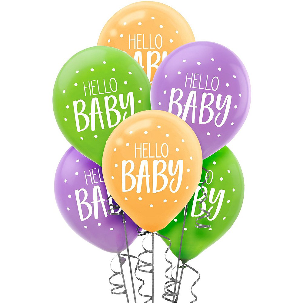 Super Fisher-Price Hello Baby Party Kit for 32 Guests Image #12