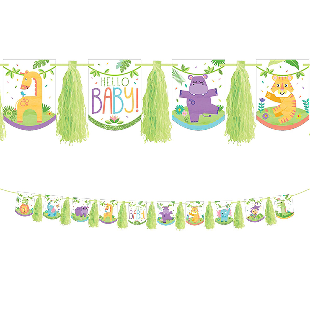 Super Fisher-Price Hello Baby Party Kit for 32 Guests Image #16