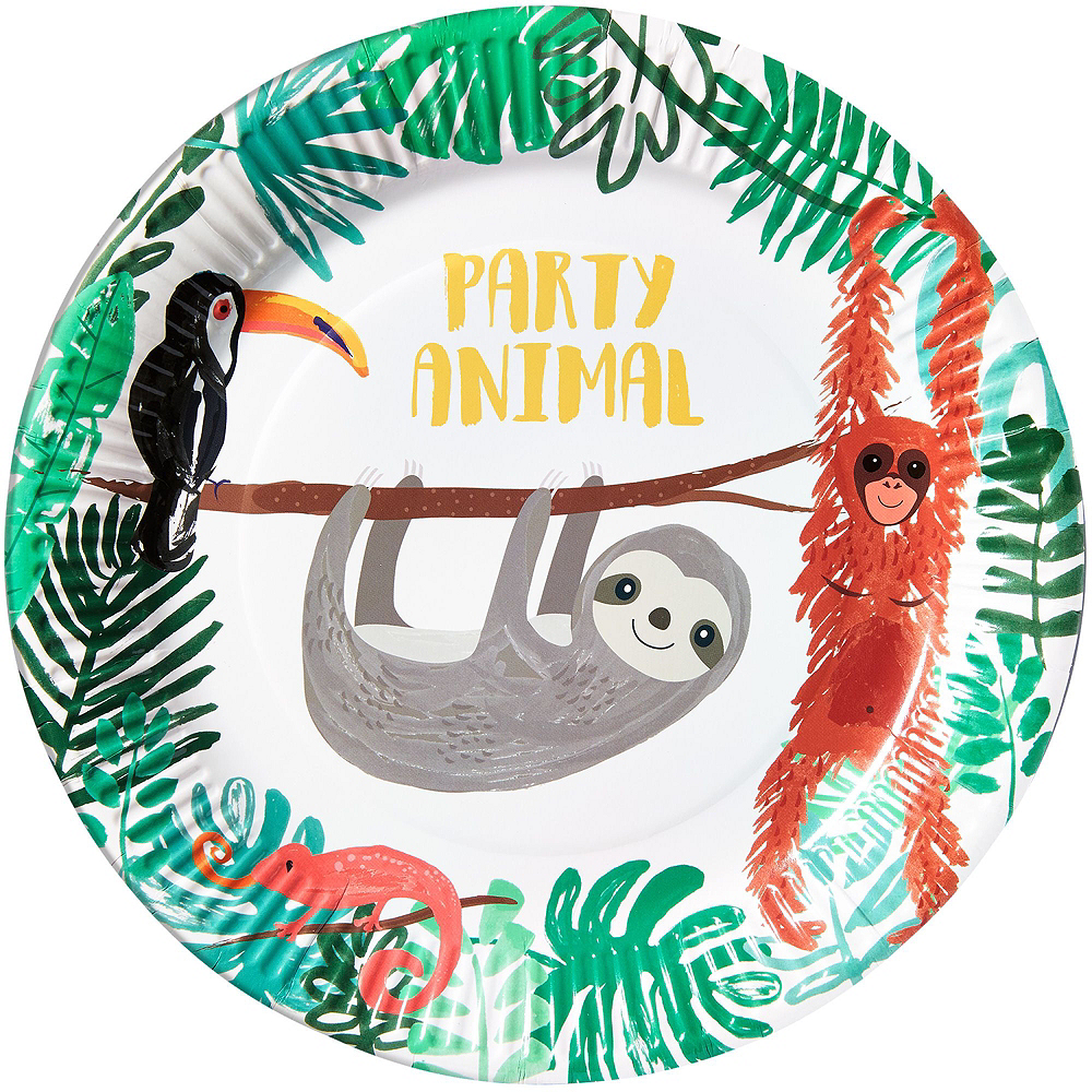 Sloth Tableware Kit for 8 Guests Image #3
