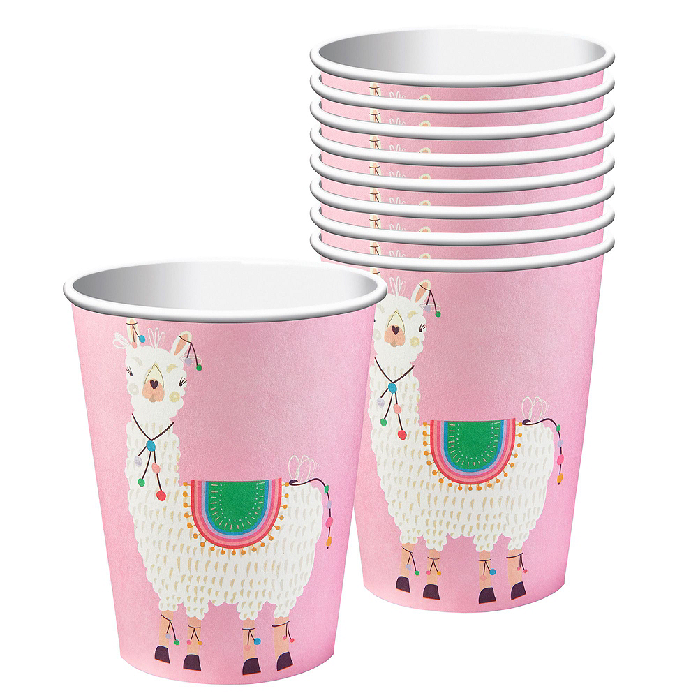 Baby Llama Tableware Kit for 16 Guests Image #6