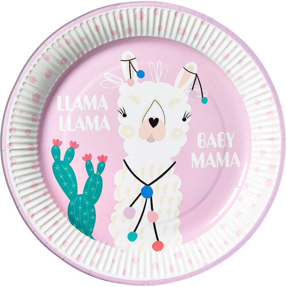 Baby Llama Tableware Kit for 32 Guests Image #3