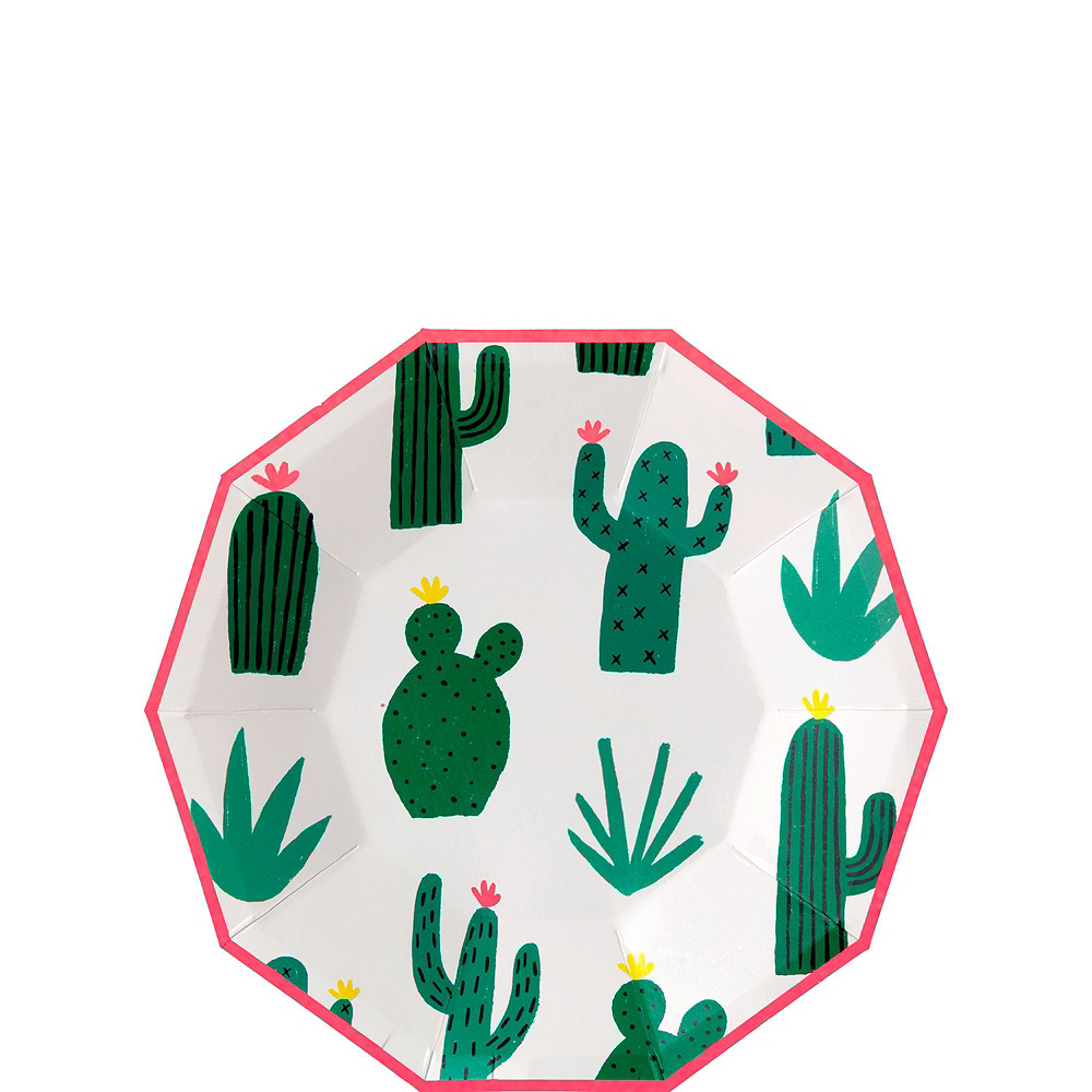 Cactus Tableware Kit for 12 Guests Image #4