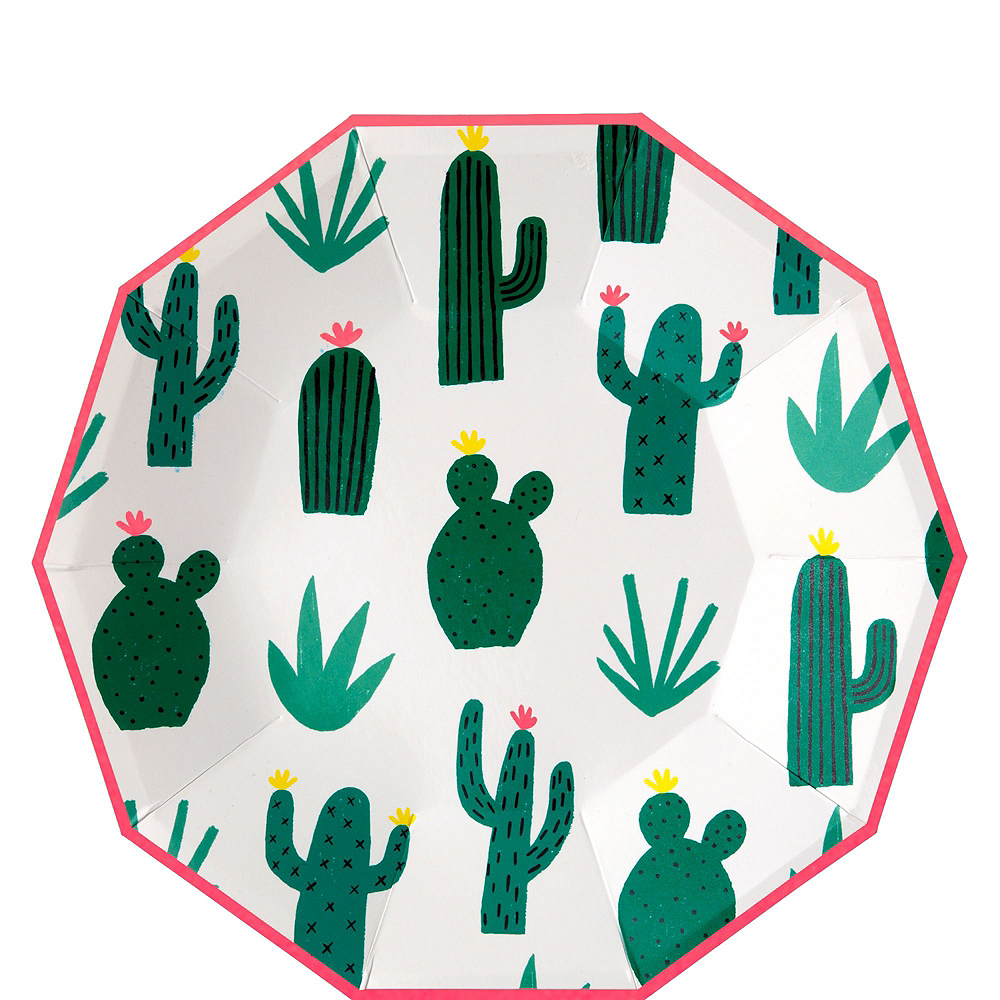 Cactus Tableware Kit for 12 Guests Image #5
