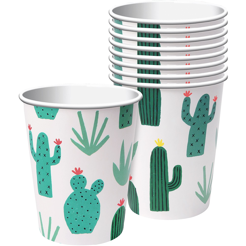 Cactus Tableware Kit for 12 Guests Image #6