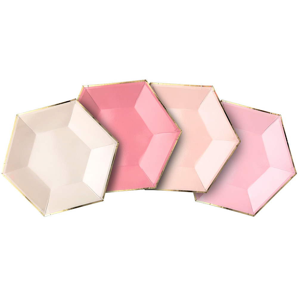 Shades of Pink Tableware Kit for 16 Guests Image #5