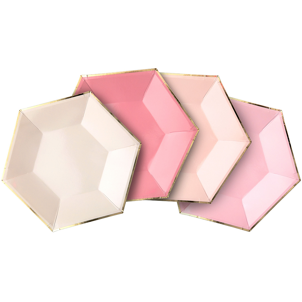 Shades of Pink Tableware Kit for 16 Guests Image #6