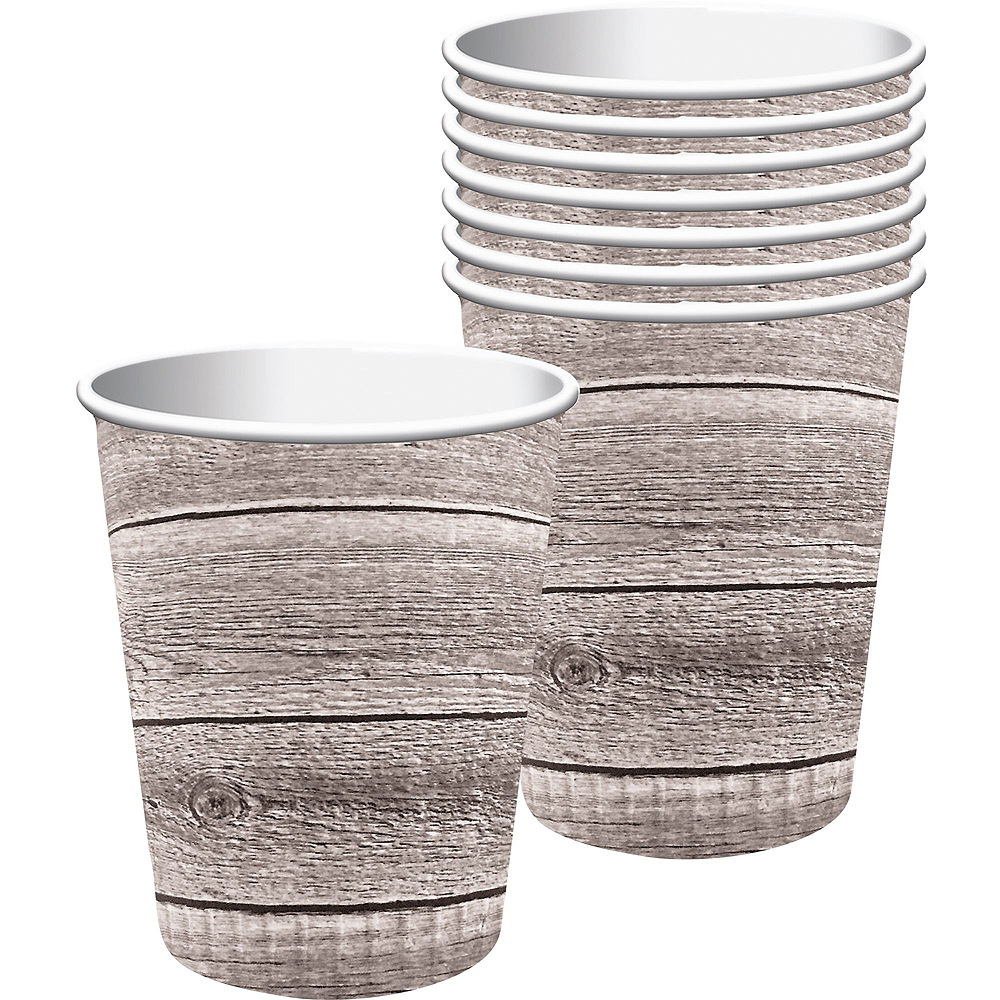 Deluxe Barnwood Tableware Kit for 16 Guests Image #2