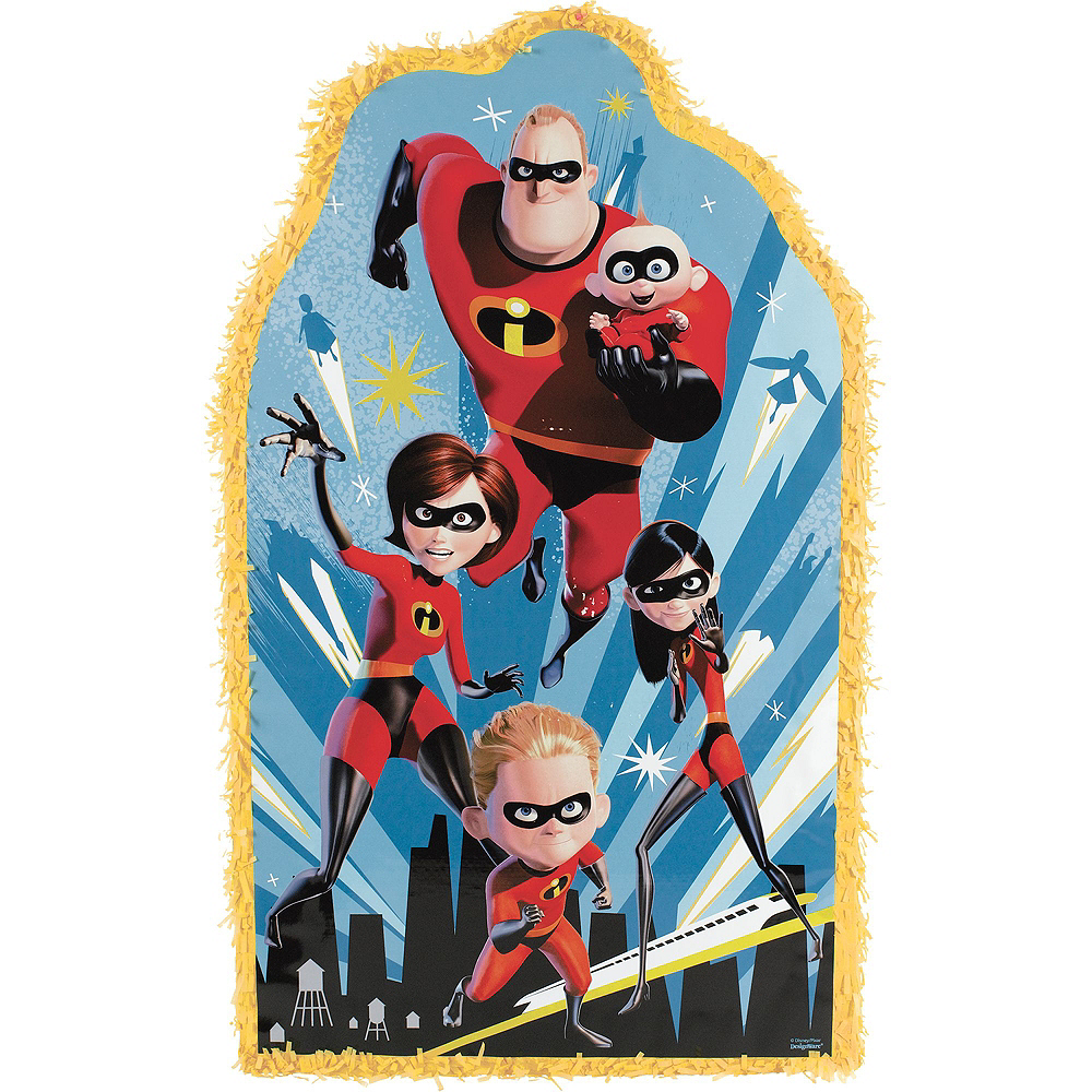 Incredibles 2 Pinata Kit with Favors Image #2