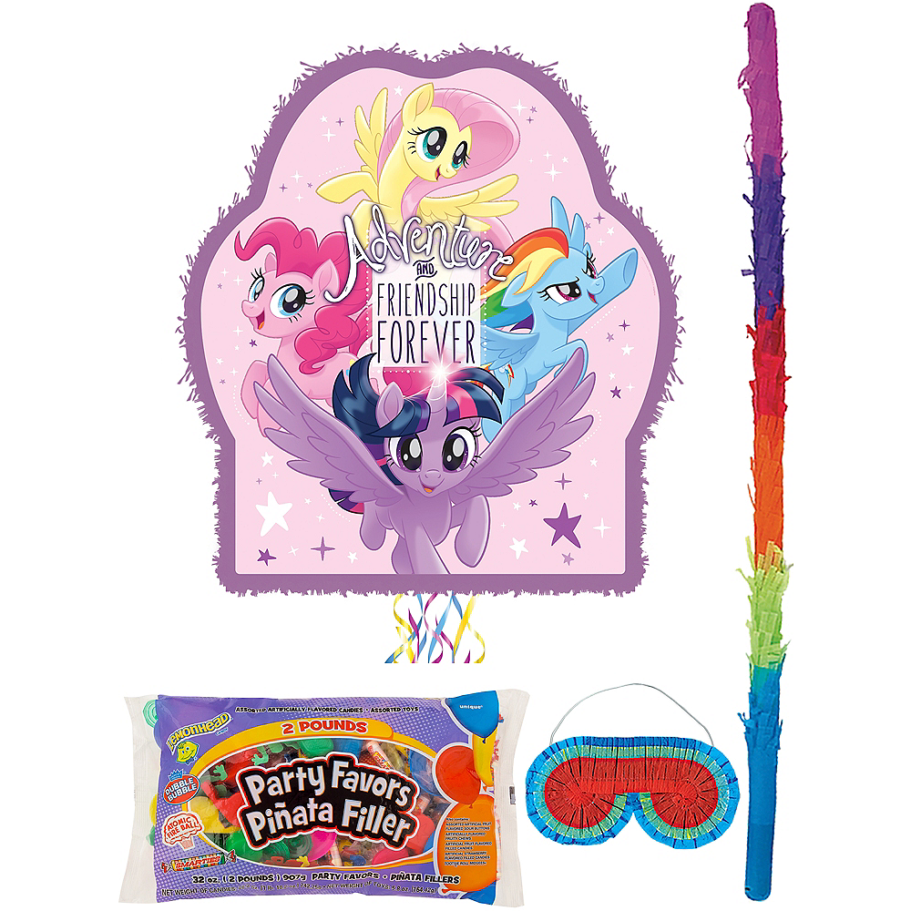 My Little Pony Pinata Kit with Candy & Favors Image #1