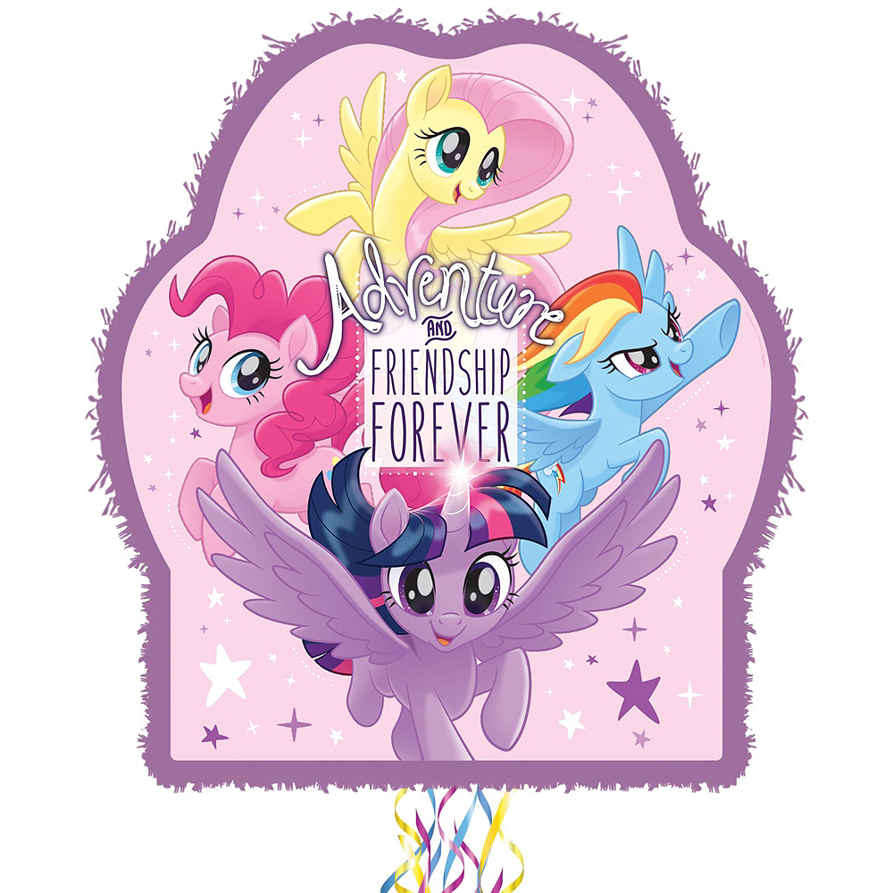 My Little Pony Pinata Kit with Candy & Favors Image #2
