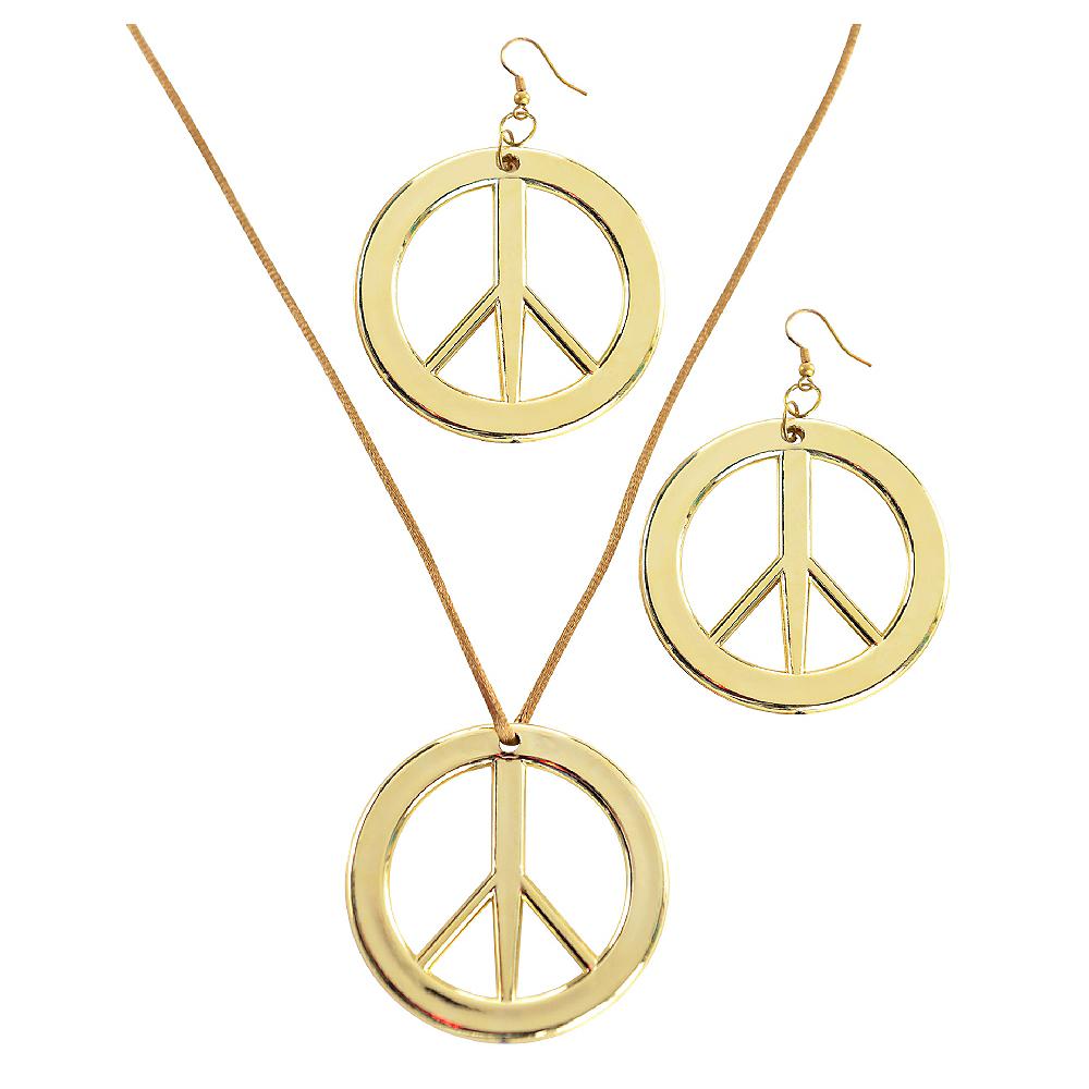 Peace Pendant & Earring Set Image #1