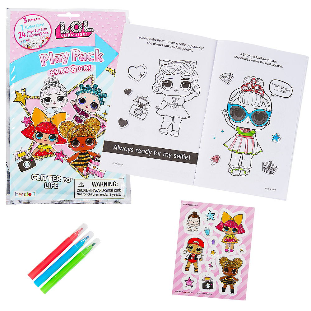 L.O.L. Surprise! Grab & Go Play Pack Image #1