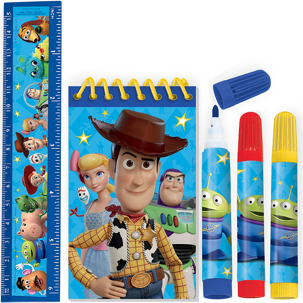 Toy Story 4 Stationery Set 5pc Image #1