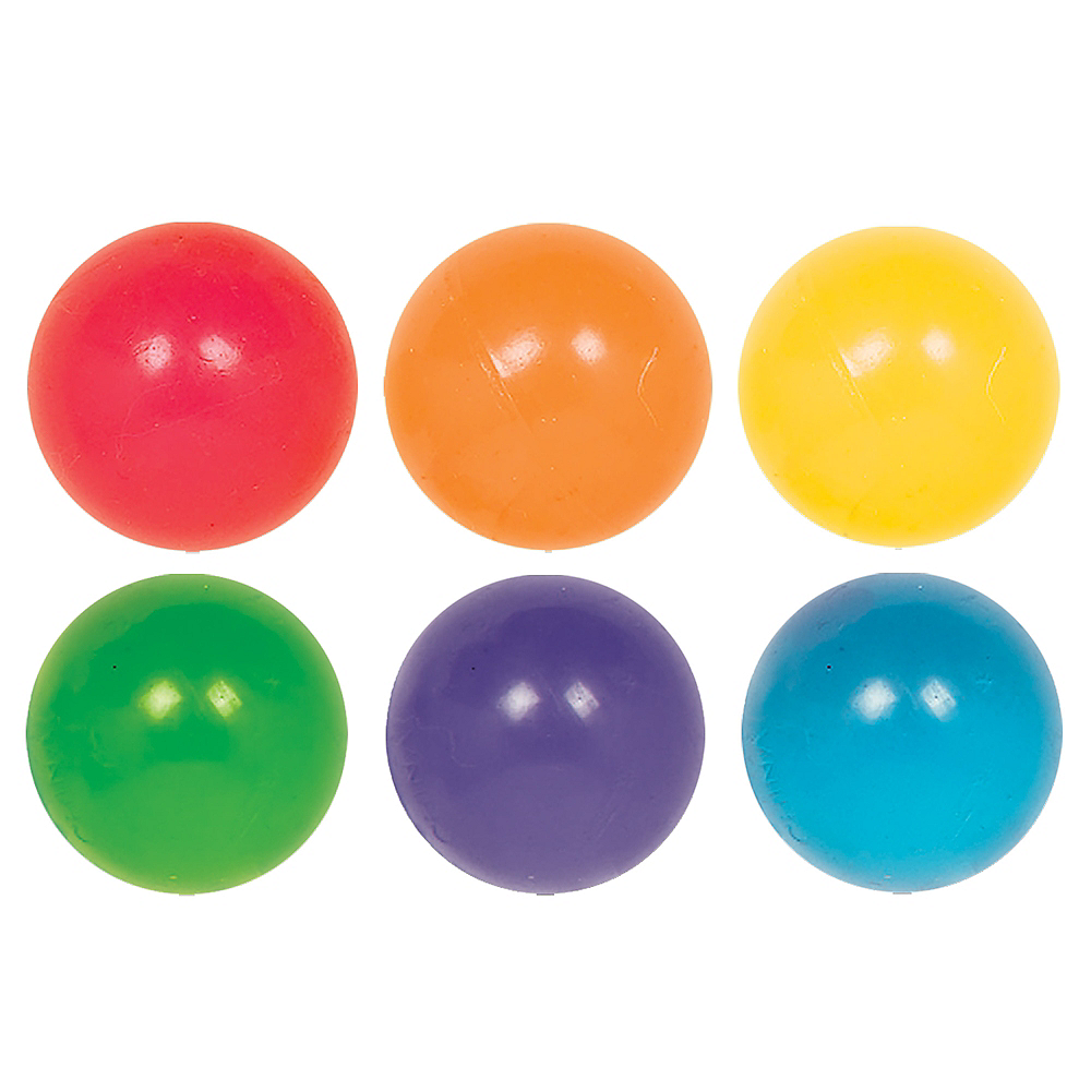 Nav Item for Neon Bounce Balls 6ct Image #1