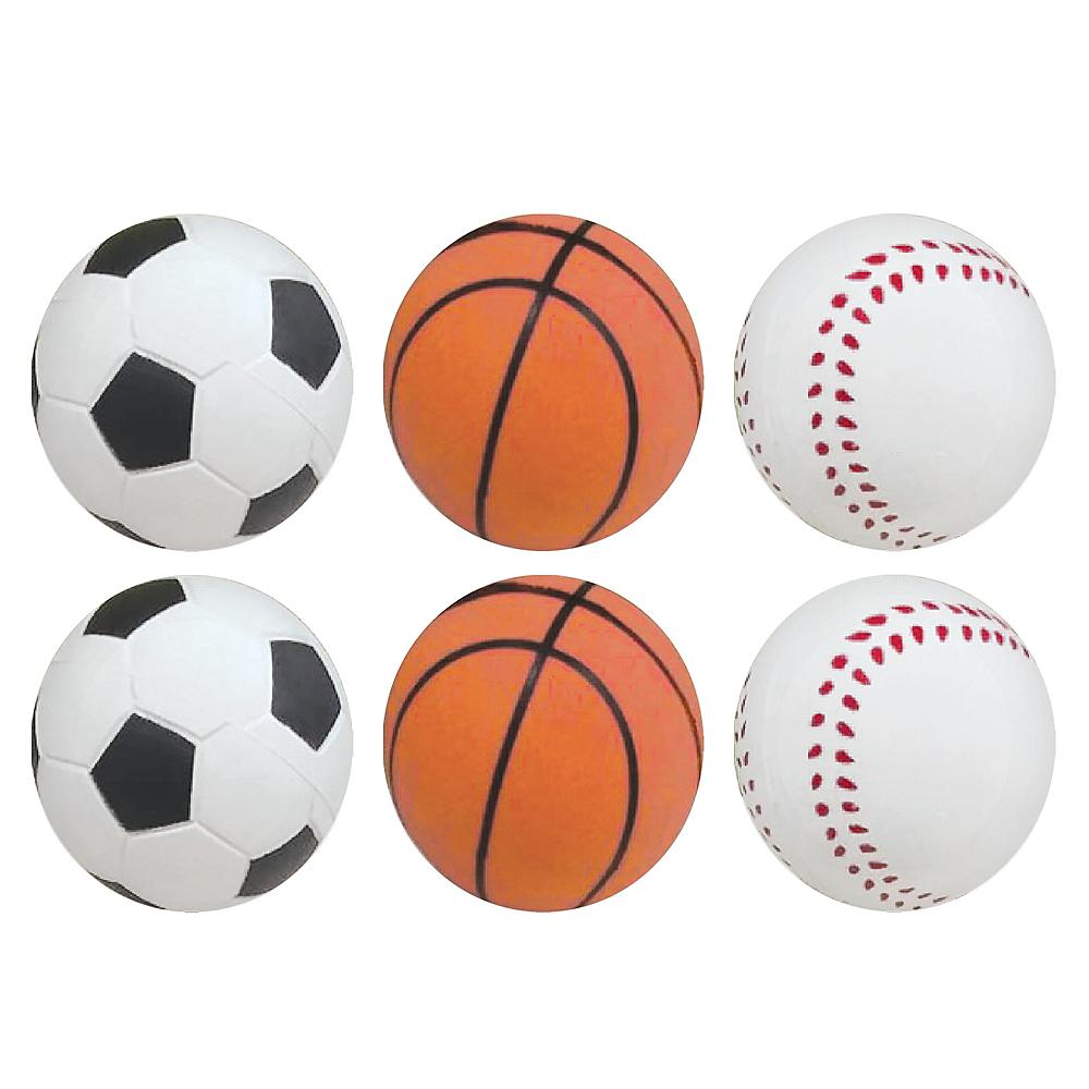 Sport Bounce Balls 6ct Image #1