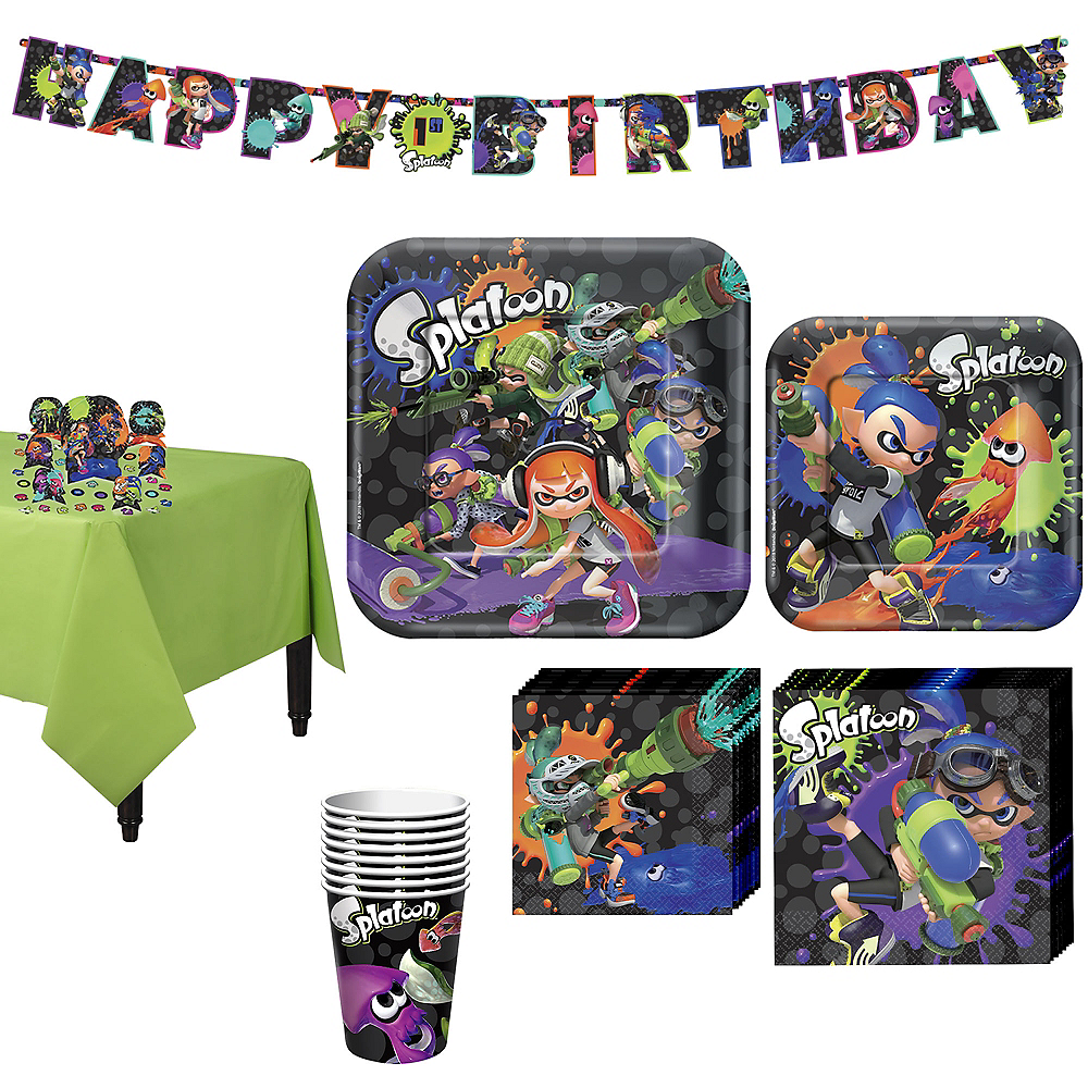 Splatoon Tableware Kit for 8 Guests Image #1