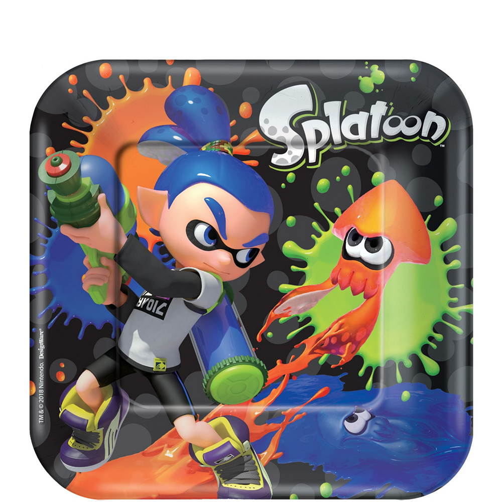 Splatoon Tableware Kit for 8 Guests Image #2
