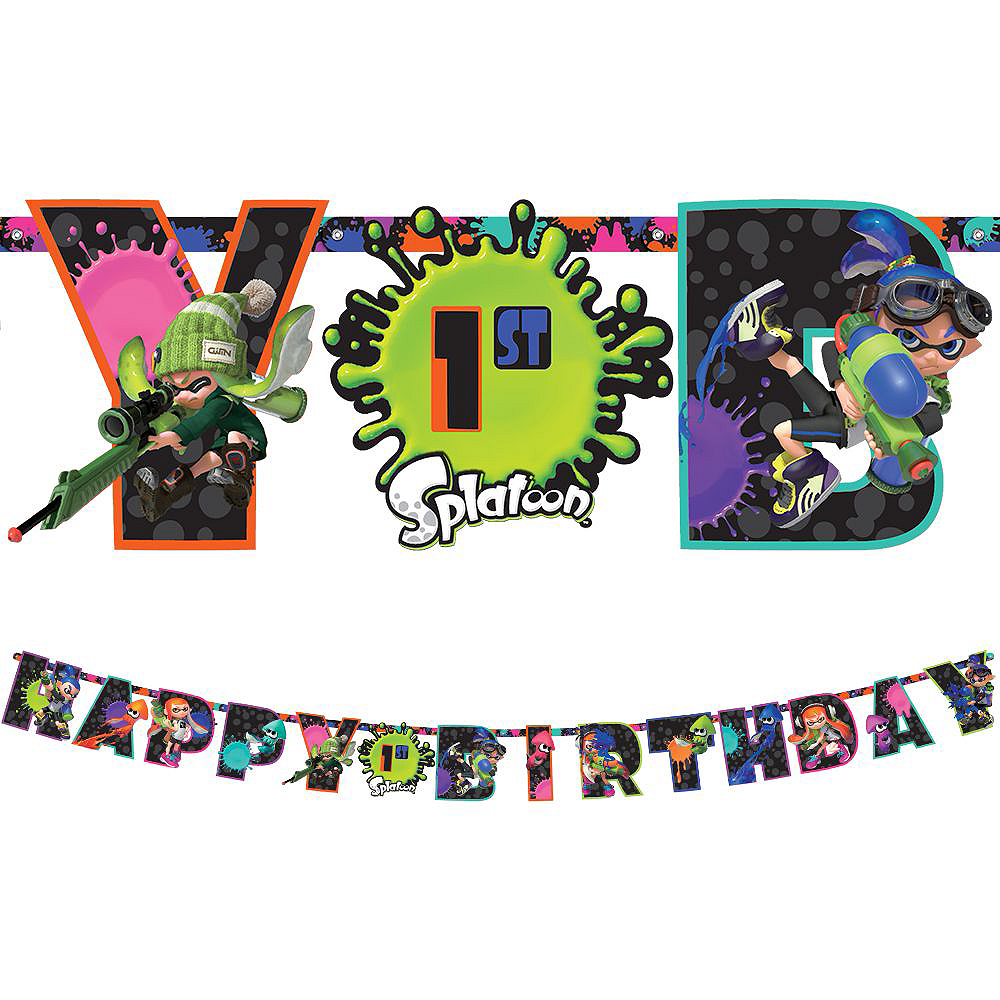 Splatoon Tableware Kit for 8 Guests Image #8