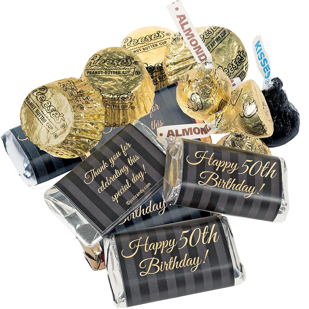 Milestone 50th Birthday Hershey's Chocolate Mix 180pc Image #2