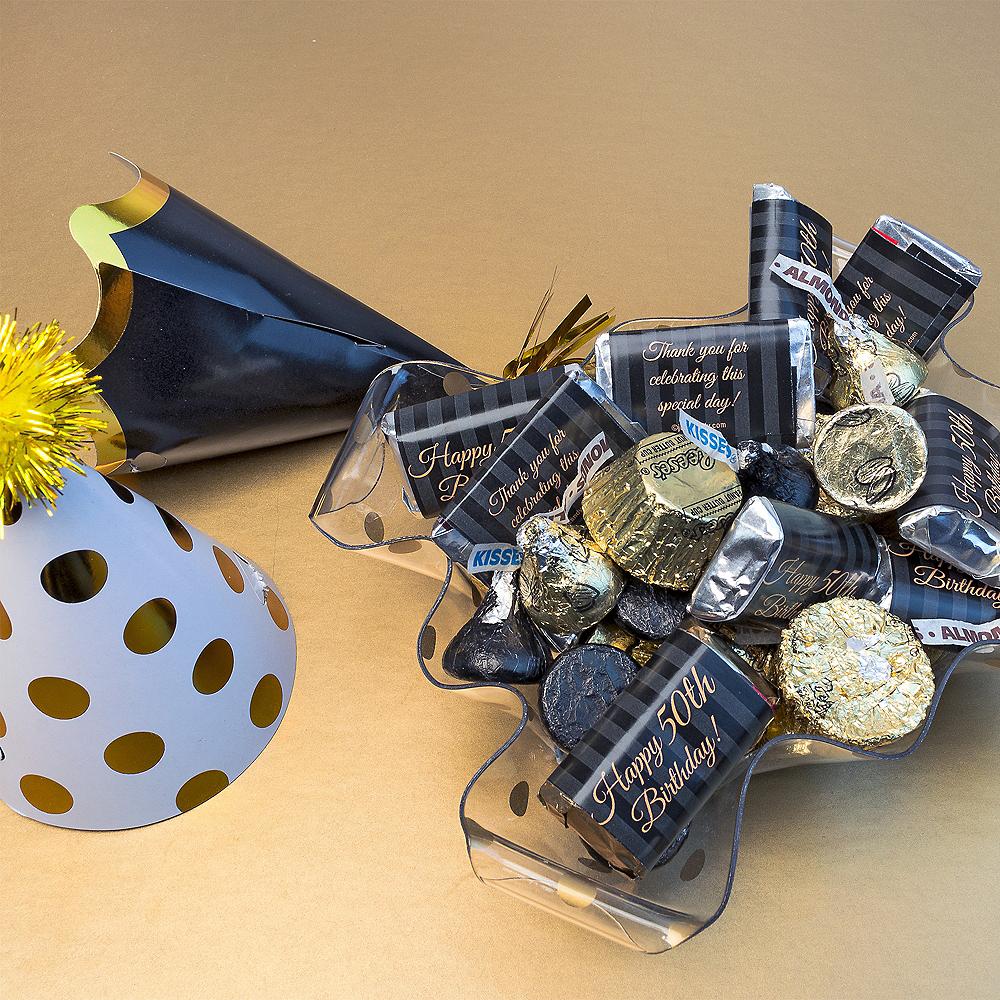 Milestone 50th Birthday Hershey's Chocolate Mix 180pc Image #3