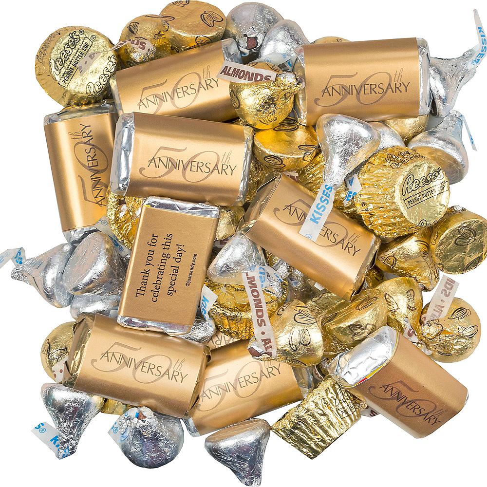 Milestone 50th Anniversary Hershey's Chocolate Mix 180pc Image #1