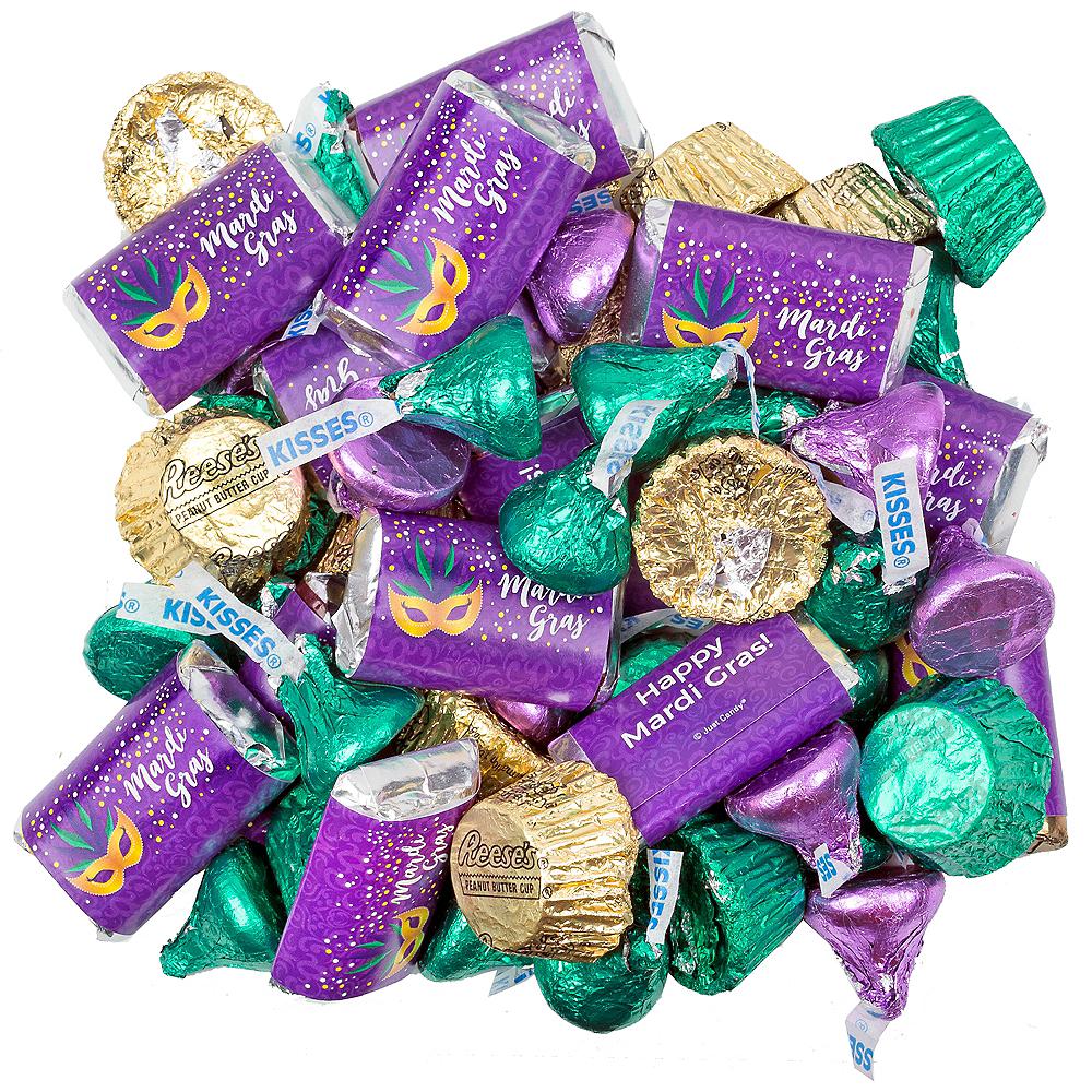 Mardi Gras Hershey's Chocolate Mix 180pc Image #1