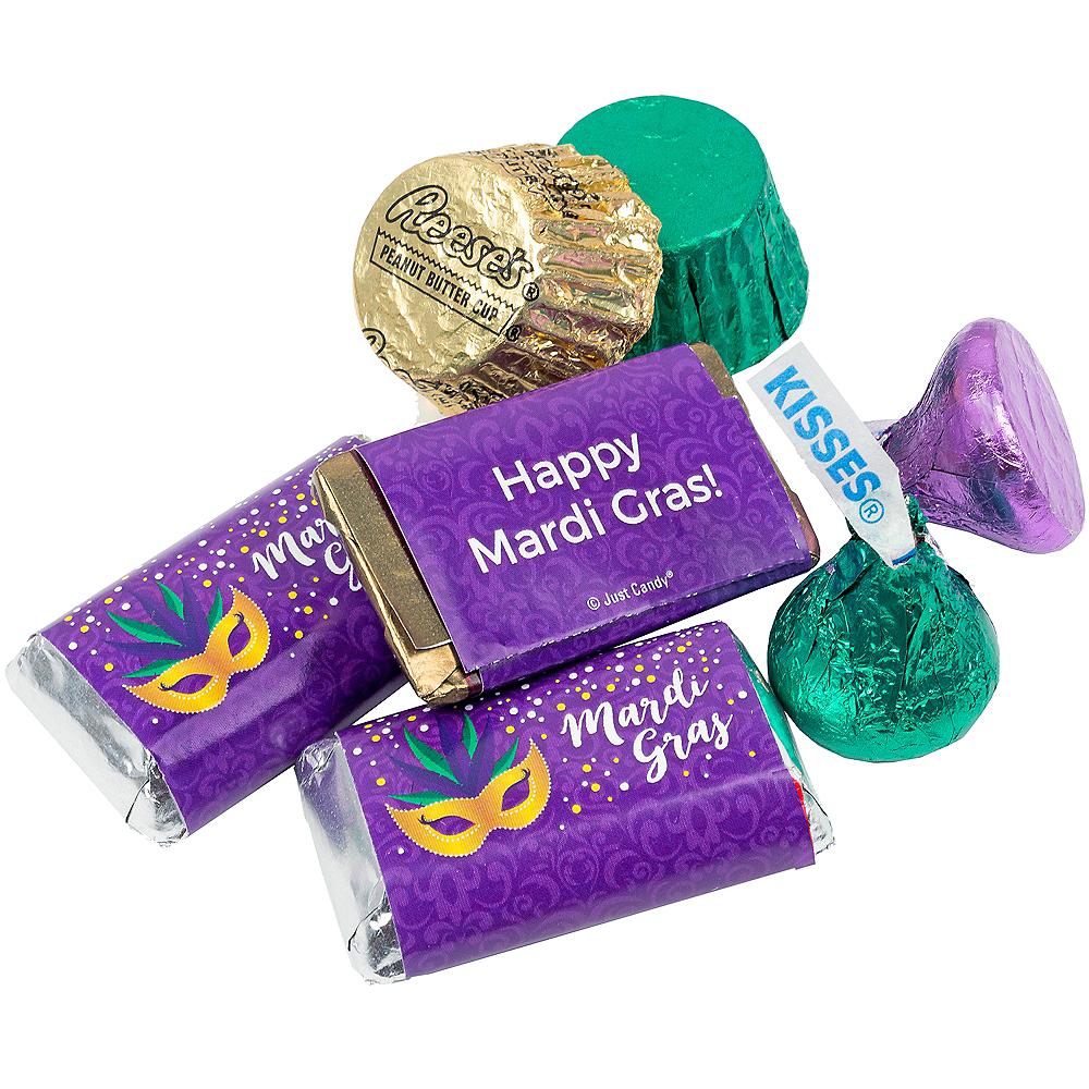 Mardi Gras Hershey's Chocolate Mix 180pc Image #2