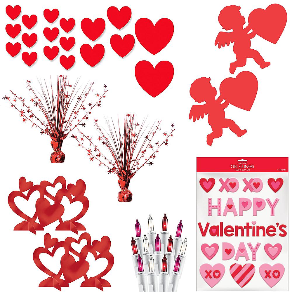 Valentine's Day Cupid & Hearts Decorating Kit Image #1