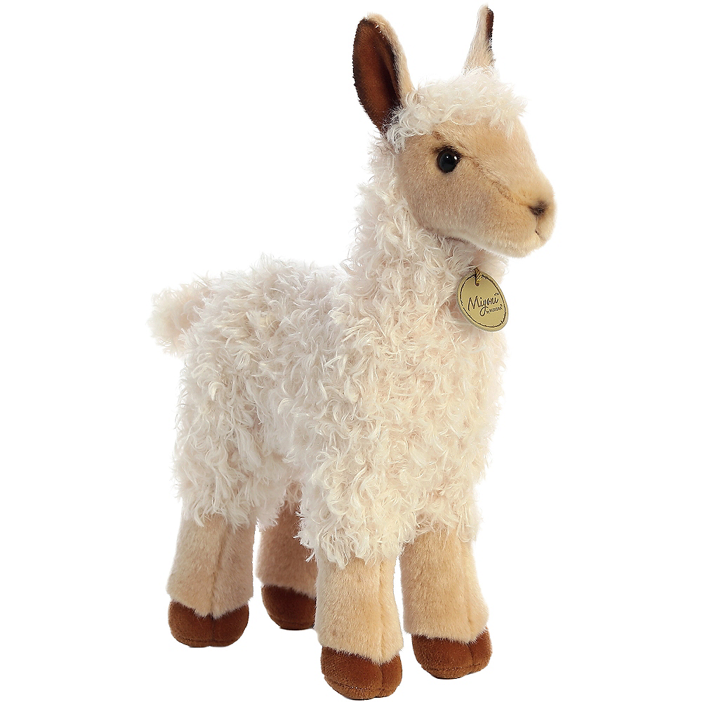 Nav Item for Tan Llama Plush Image #1